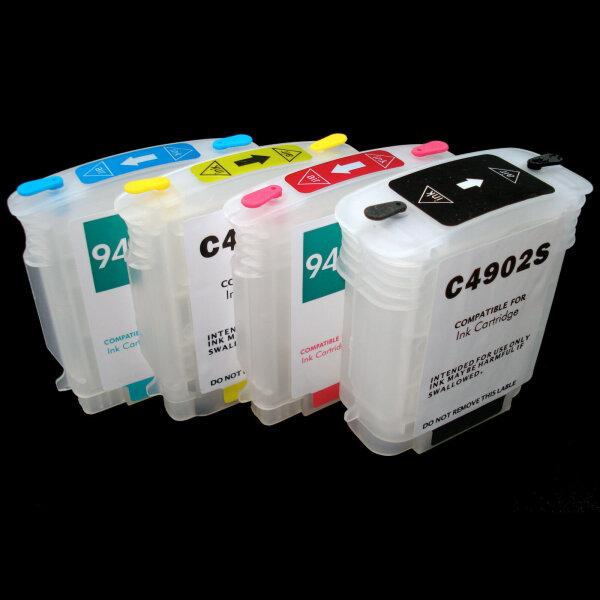 Befüllbare CISS 940 BK Y M C XL Patronen C 4902 4907 4908 4909 AE für HP