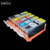 Befüllbare Druckerpatronen Tintenpatronen InkTec® Tinte ink für PGI525 CLI526