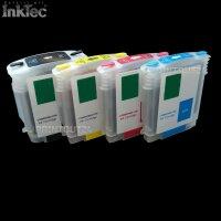 Befüllbare Nachfüll Fill In refill für HP 10 11 BK Y M C Patronen cartridge