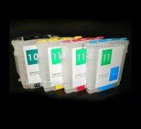 Befüllbare Nachfüll Fill In Refill Patronen 10 11 C4844 C4836 C4837 C4838 für HP