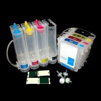 CISS Continuous ink system für HP 10XL 11 C4844 C4836 C4837 C4838 C4939 Patrone