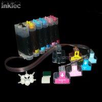 CISS InkTec Tinte ink 363 für HP Photosmart C6190 C6200 C6240 C6250 C6270 C6280