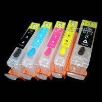 CISS Patronen refill cartridges quick fill für PGI5 CLI8 Y M C BK Druckerpatrone