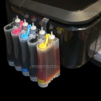 CISS Quick Fill in Inktec® Tinte refill ink für Canon Pixma MX725 IP7250 PGI 550