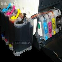 CISS Set Inktec Tinte ink Schlauchsystem 82 11 BK Y M C XL für HP DesignJet 111