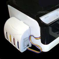 Elegant CISS Schlauchsystem 10 XL 11 BLACK YELLOW MAGENTA...