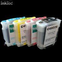mini CISS InkTec Drucker Tinte refill ink Nachfülltinte cartridge für HP 940XL
