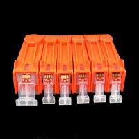 mini CISS Patronen InkTec Tinte ink für PGI 520 BK...
