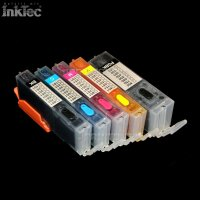 mini CISS Tinte refill ink für Canon PGI-550 CLI-551 MG5450 MG5550 MG6350 MG6450