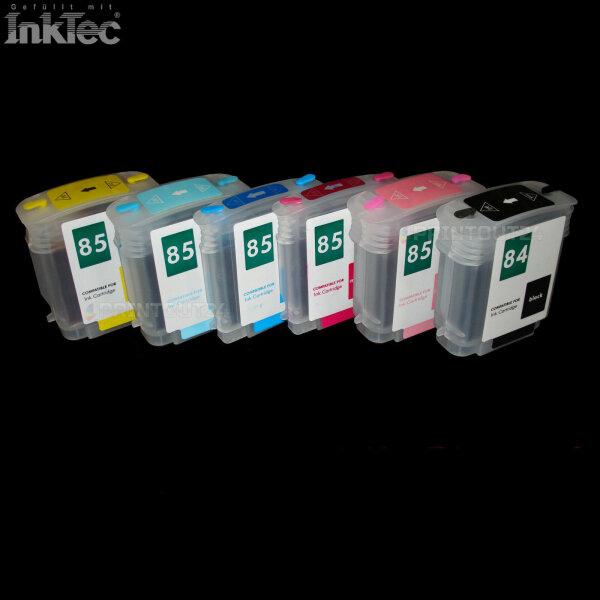 Wiederbefüllbare Nachfüll Fill In refill Patrone Tinte ink 84XL 85XL für HP