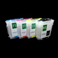 Wiederbefüllbare Nachfüll Quick Fill in Drucker Patronen für HP 82 11 XL CH565A