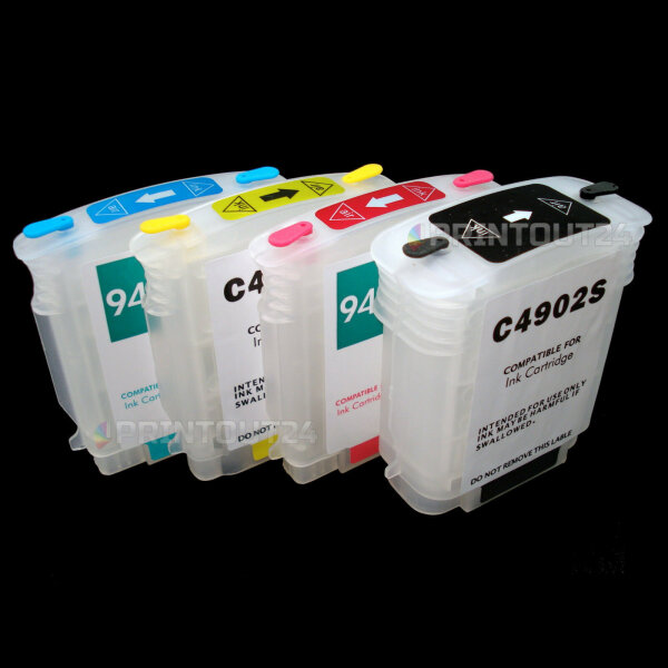 Wiederbefüllbare Nachfüll refill Dauerdruck CISS für HP 940XL Patronen cartridge