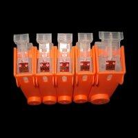 Wiederbefüllbare Patronen Inktec® Tinte ink für Canon PGI 5 CLI 8 BK Y M C
