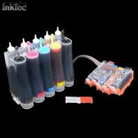 CISS Tinte ink für HP 364XL Photosmart C5324 C5370...