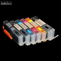 mini CISS Tinte refill ink set für Canon Pixma grey...
