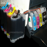 CISS refill cartridge  Druckerpatrone Continuous ink...