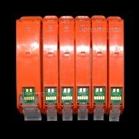 Befüllbare Patrone Fill in refill cartridge für PGI-570 CLI-571 BK Y M C GY Grau
