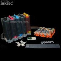 CISS Inktec® Tinte refill ink set für Canon PGI-570BK CLI571BK cartridge Patrone