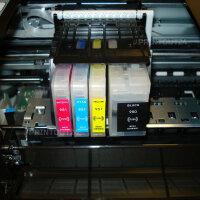 Befüllbare  Druckerpatronen Patronen Continuous ink...