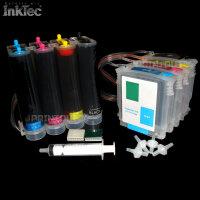 CISS Schlauchsystem 10 XL 11 XL BLACK YELLOW MAGENTA CYAN...
