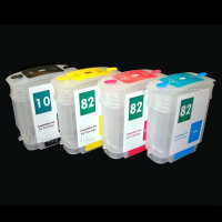 mini CISS für HP 10 82XL refill cartridge DesignJet...