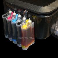 CISS Inktec® Nachfülltinte Drucker Tinte ink...