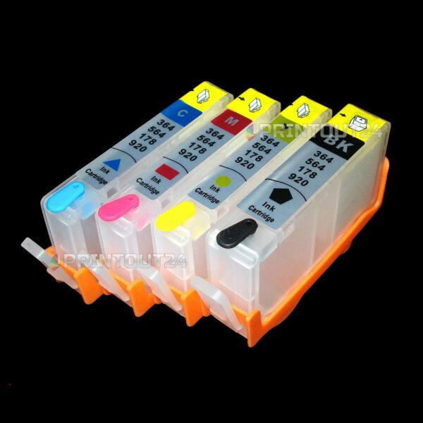 mini CISS 920XL 920 CD975 CD974 CD973 CD972 Patrone refill cartridge für HP