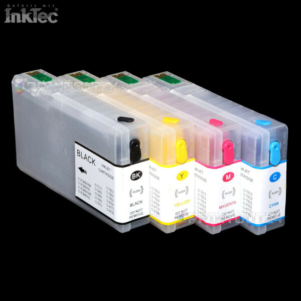 mini CISS InkTec SUBLIMATION Tinte ink set für Epson WP4515DN WP4545DTWF NON OEM