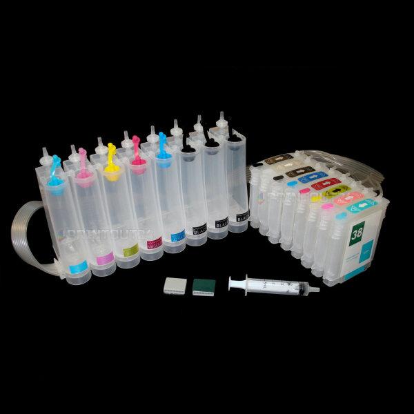 Wiederbefüllbare Nachfüll Fill In refill ink 38XL Patrone cartridge set für HP