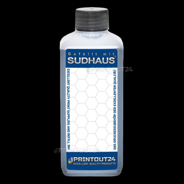200ml SUDHAUS® Tinte Nachfülltinte refill ink für CLI 526 GY grey Grau Patrone